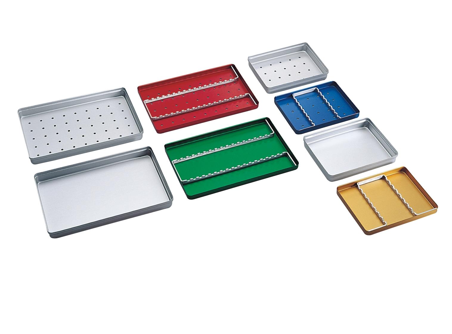Tray in alluminio